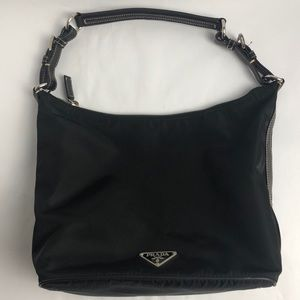 Prada tessuto trend black Nylon and leather